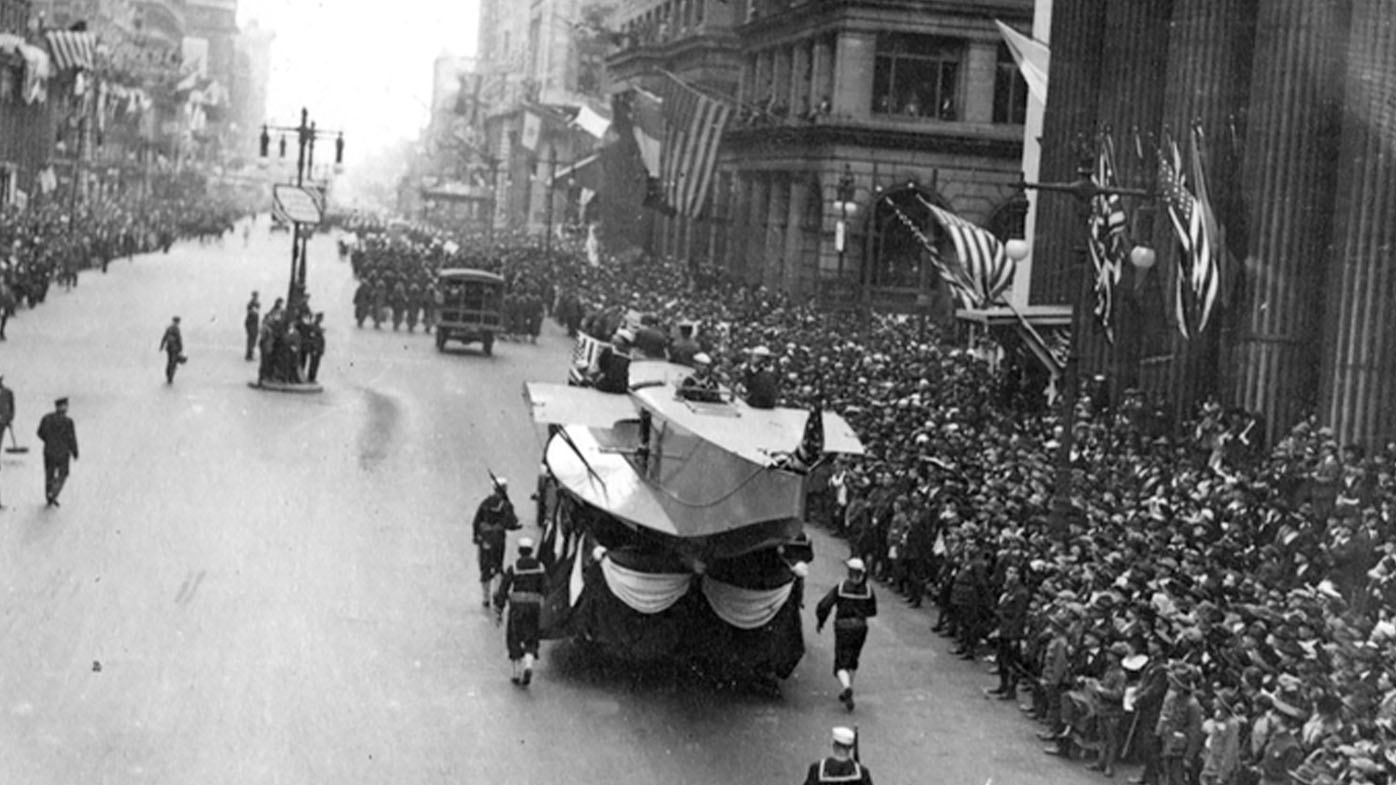 Philadelphia didn't cancel a parade during a 1918 pandemic. The results were devastating