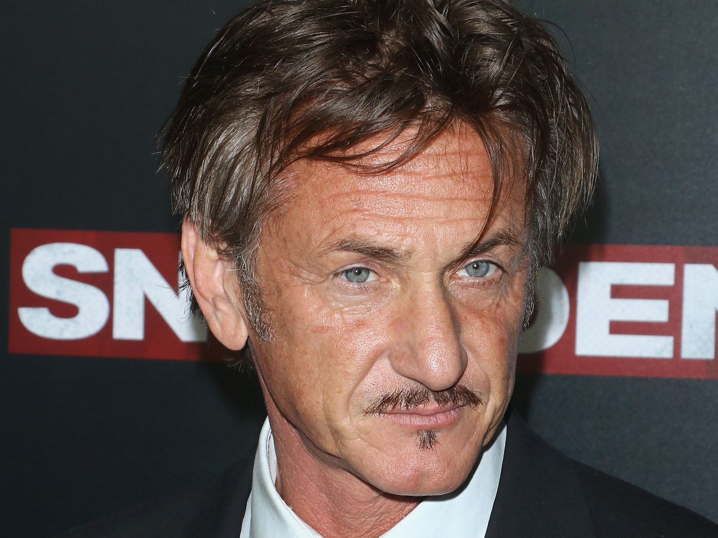 """Actor Sean Penn attends the """"Snowden"""" New York premiere at AMC Loews Lincoln Square on September 13, 2016 in New York City"""