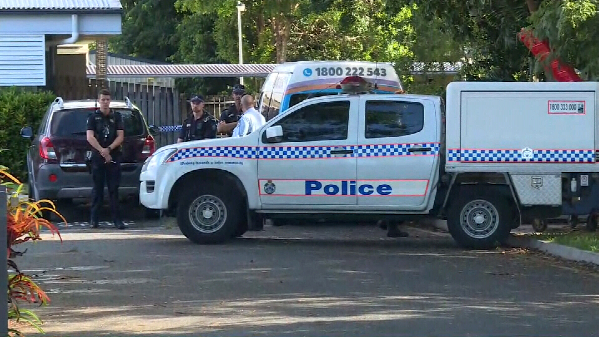 Queensland Police and the Child Protection Investigation Unit are working with a number of agencies to establish how the boy was left to die in the bus.