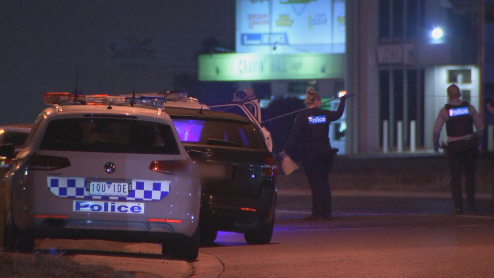 Drive-by shooting leaves father dead, one man injured