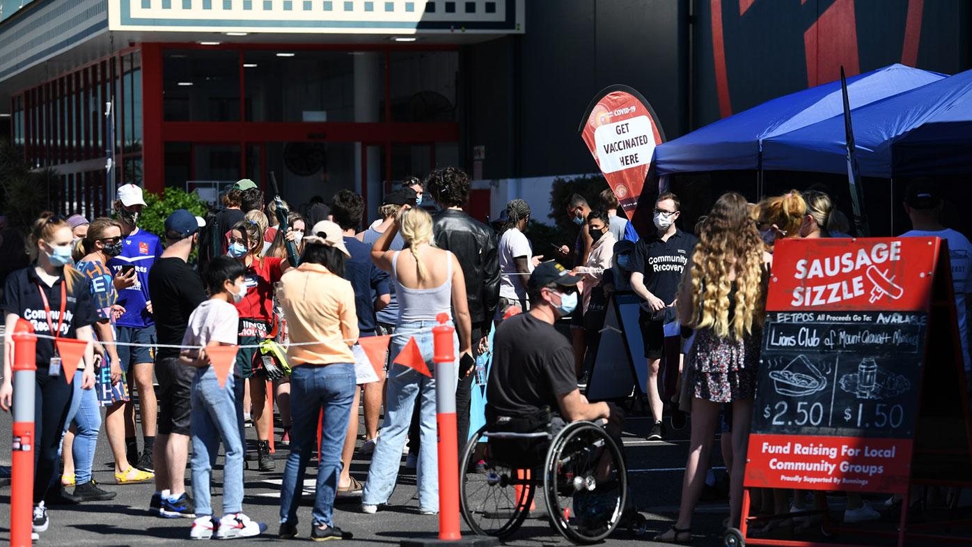Thousands of Queenslanders get COVID-19 vaccine at Bunnings