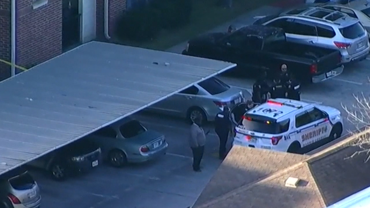 Local police in Texas arrived at the boy's home on Tuesday.