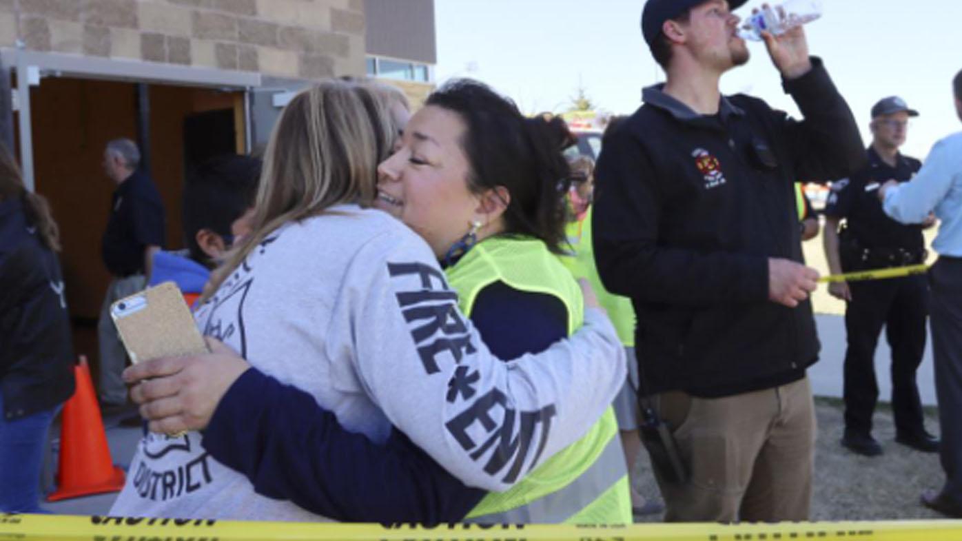 School student shoots three at US school