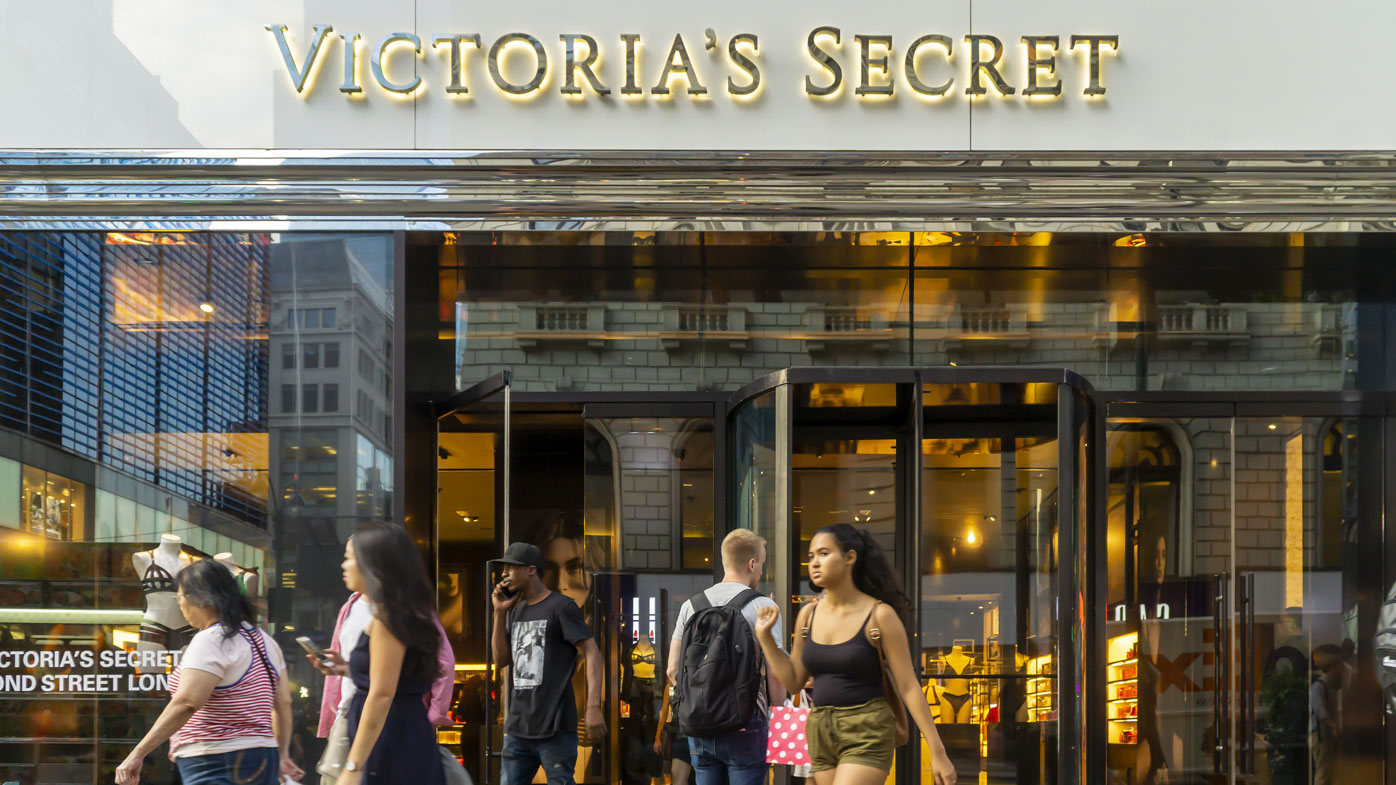 The Victoria's Secret store in busy Herald Square in Midtown in New York on Tuesday, August 20, 2019. Victoria's Secret is a brand of L Brands. Sycamore Partners has bought a controlling stake of Victoria's Secret for $525 million.