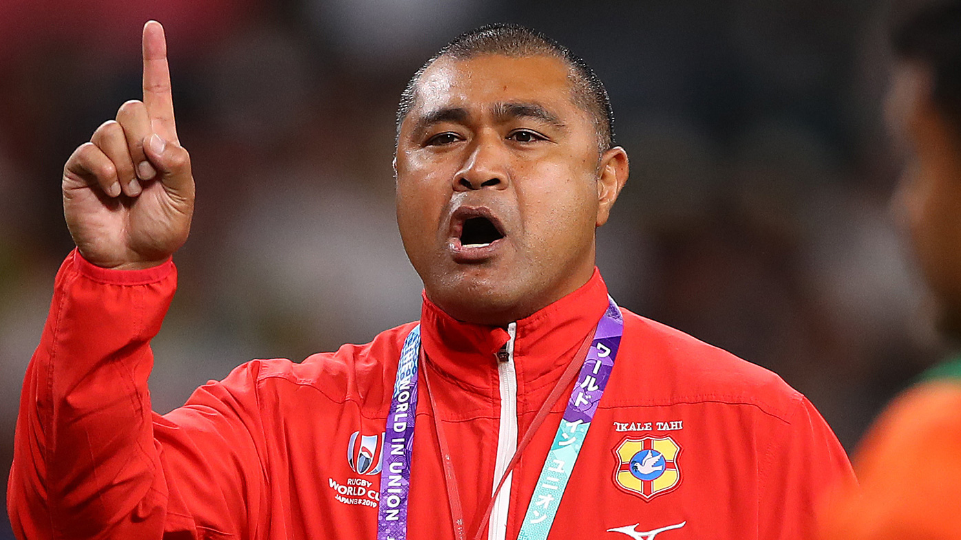 Toutai Kefu, a former Wallabies player and now head coach of Tonga, was reportedly stabbed in his Brisbane home.