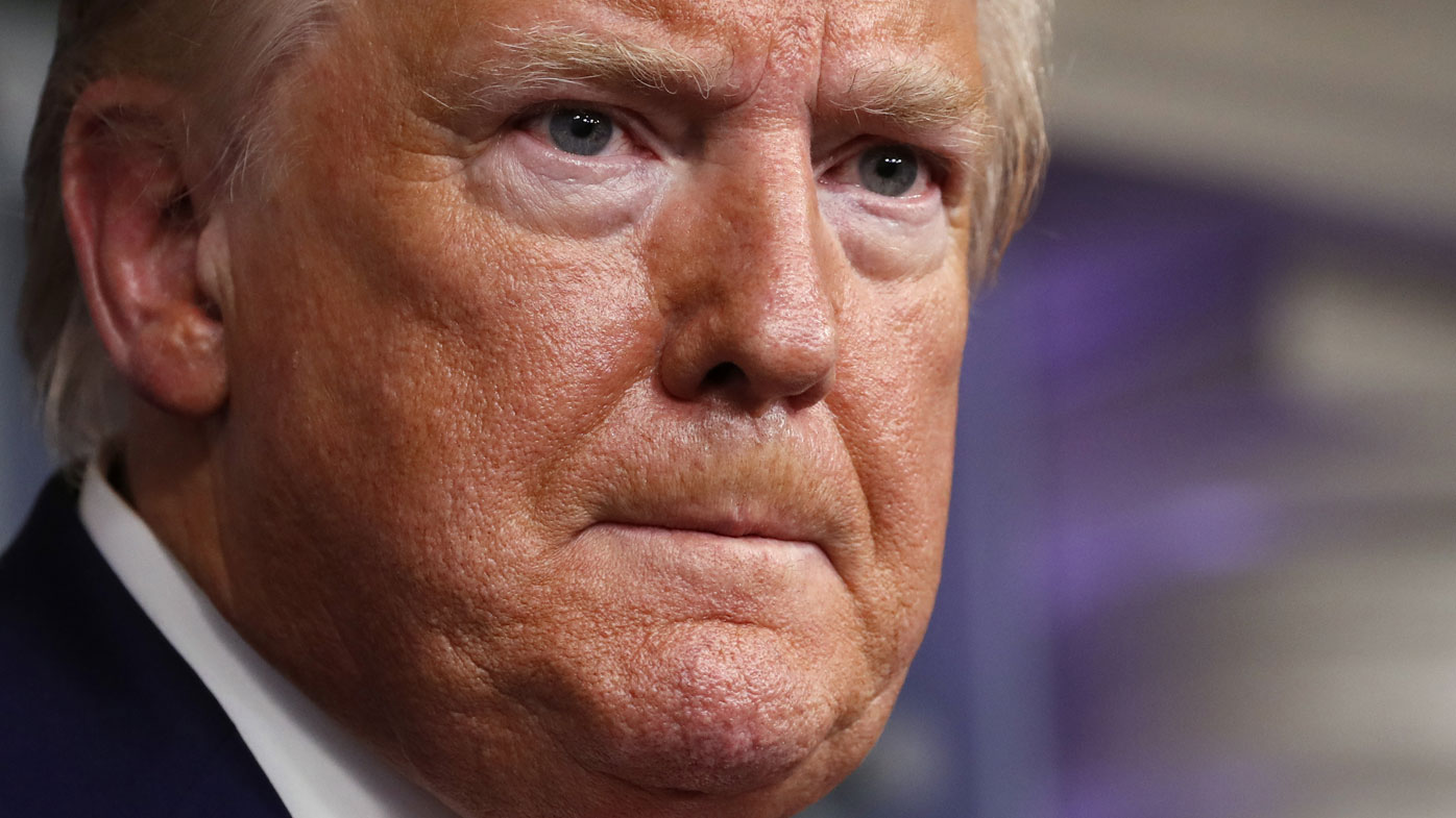 Donald Trump attacks journalists for asking about scathing coronavirus report
