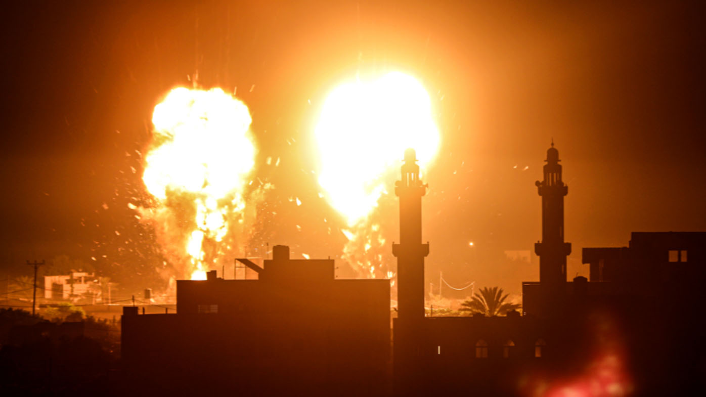 Israel launches first Gaza airstrikes since ceasefire