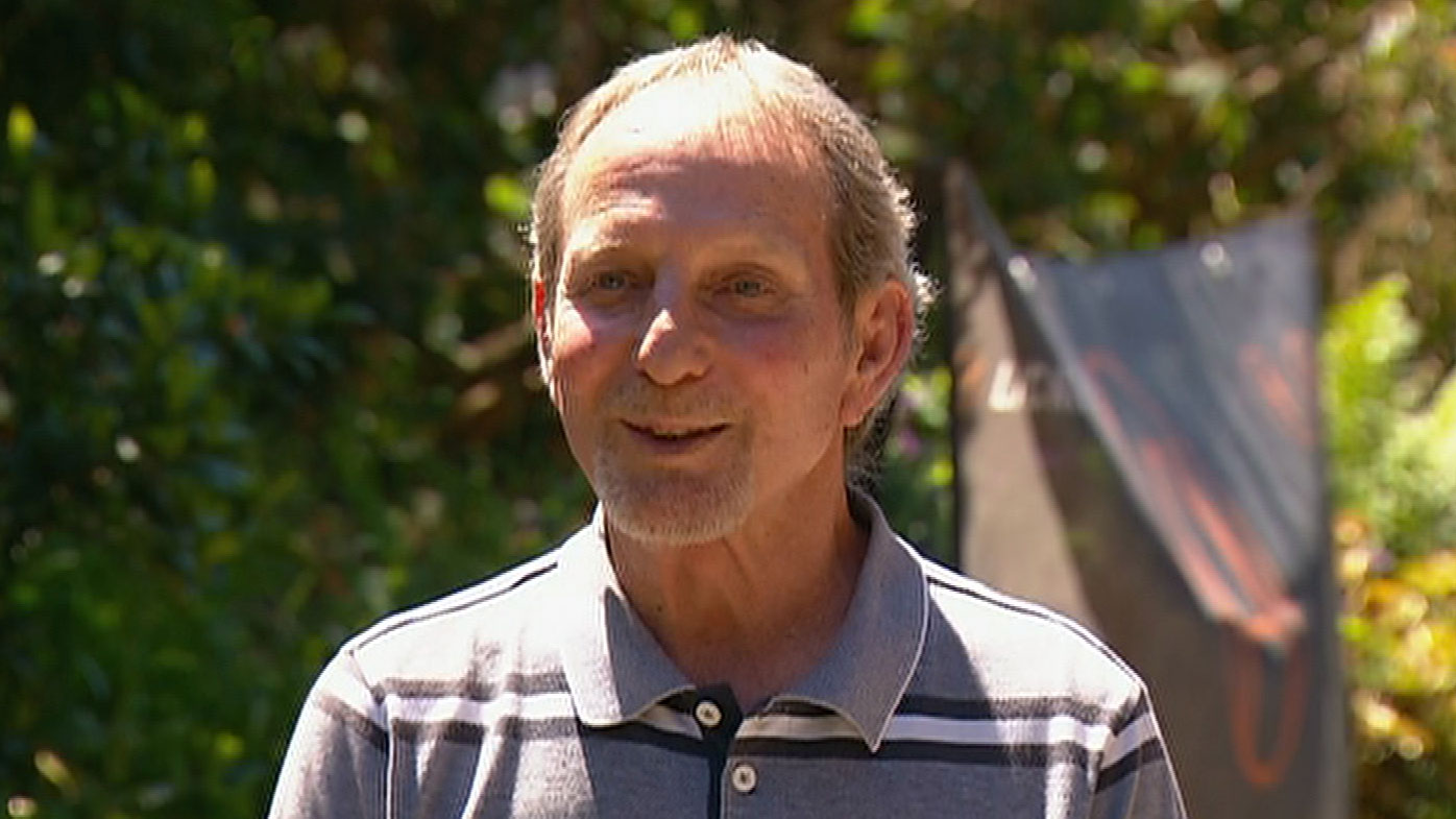 One of those tradies was Ron Niddrie, who is now 66. Message in a milk bottle