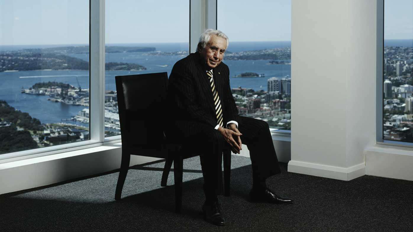 Harry Triguboff is the second richest person in Australia.