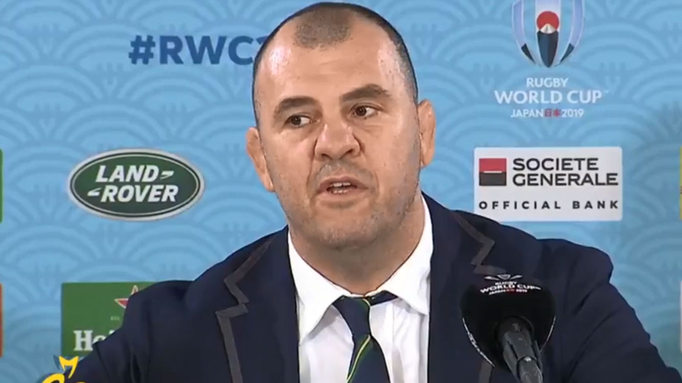 Cheika unleashes on reporter