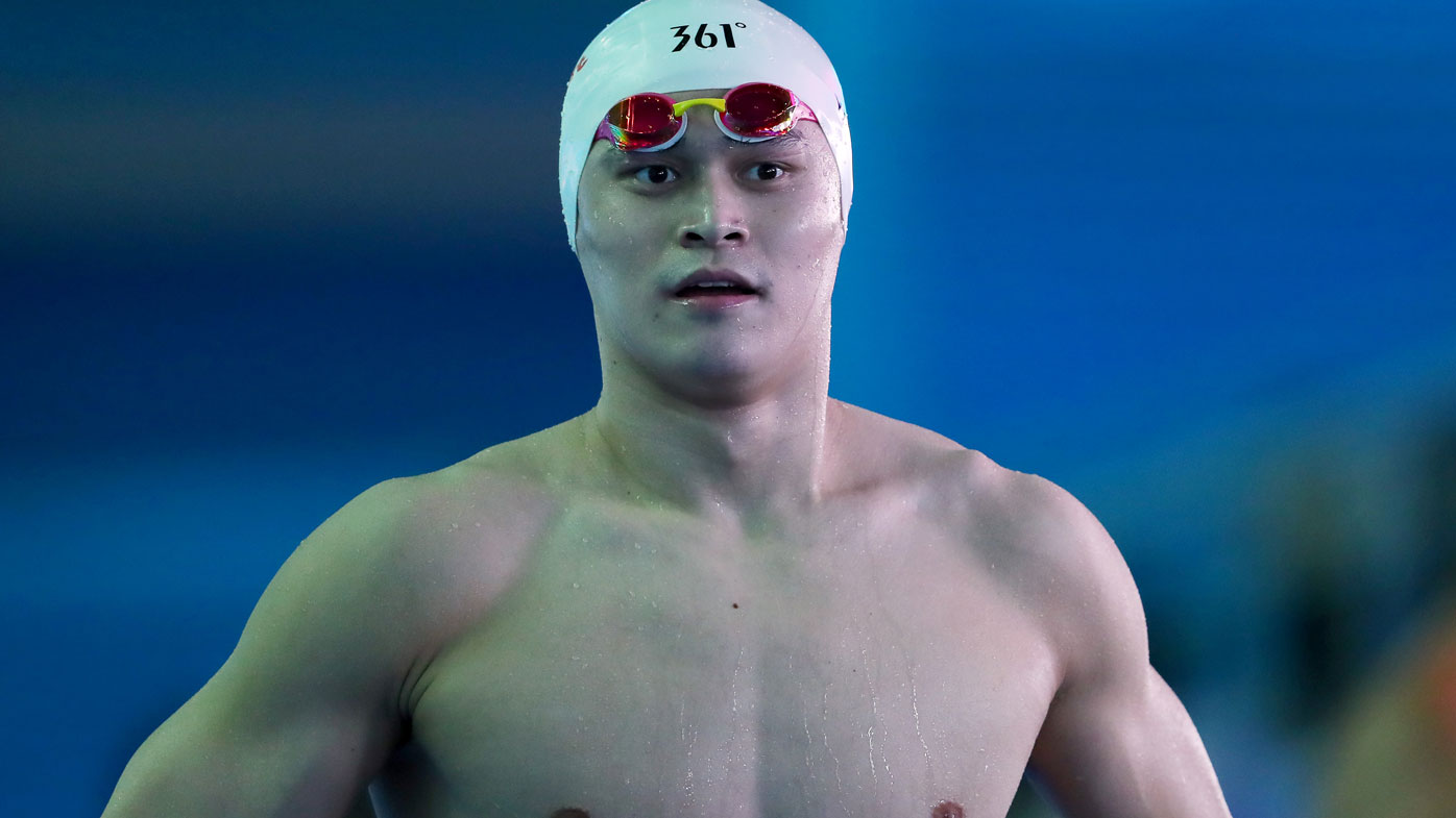 Chinese Olympic swimming champion banned for eight years — Sun Yang