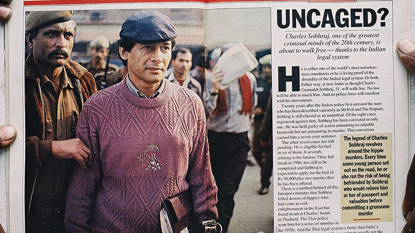 Sobhraj walked free and returned to France in 1997 after serving 20 years.