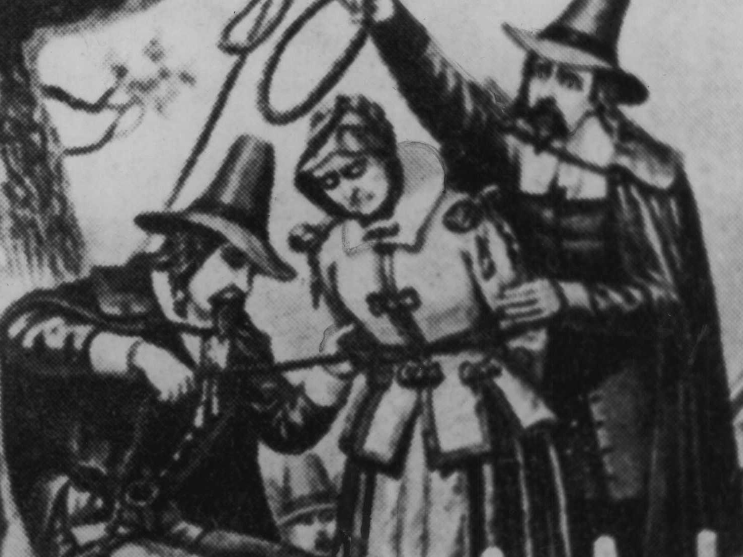 An image depicting the Witch Trials.