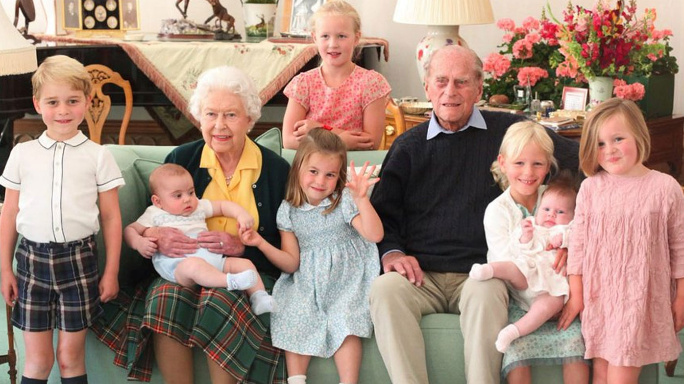 Never-before-seen images of Prince Philip released