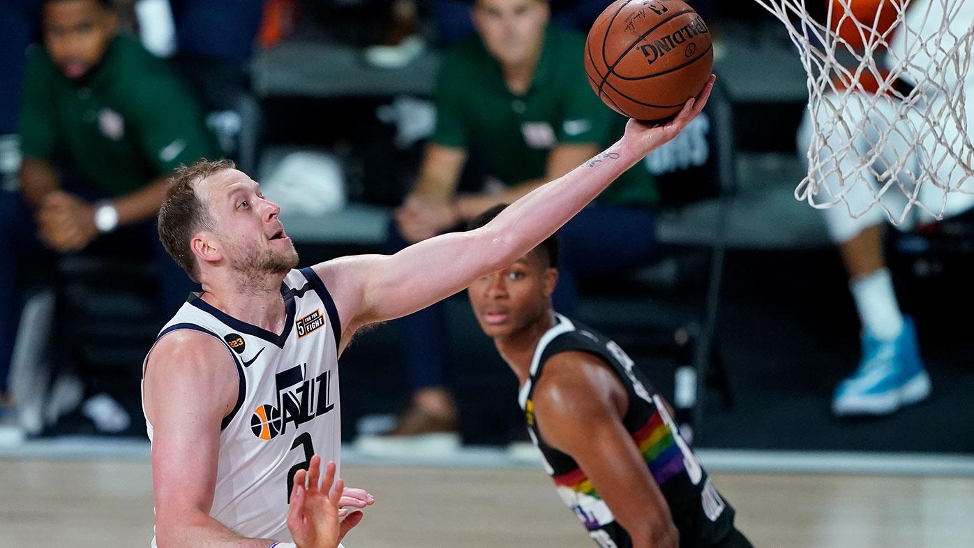 Nba Joe Ingles Off To Best Ever Playoffs Start As Utah Jazz Level Denver Series