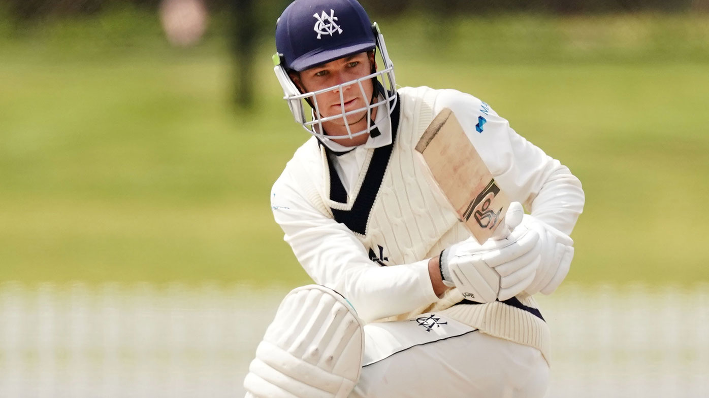 Victorian skipper Peter Handscomb is under fire after the Shield match against South Australia ended in a boring draw.
