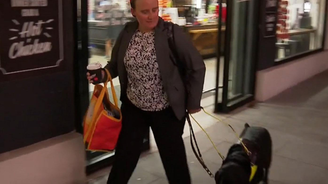 Image result for blind shopper casey