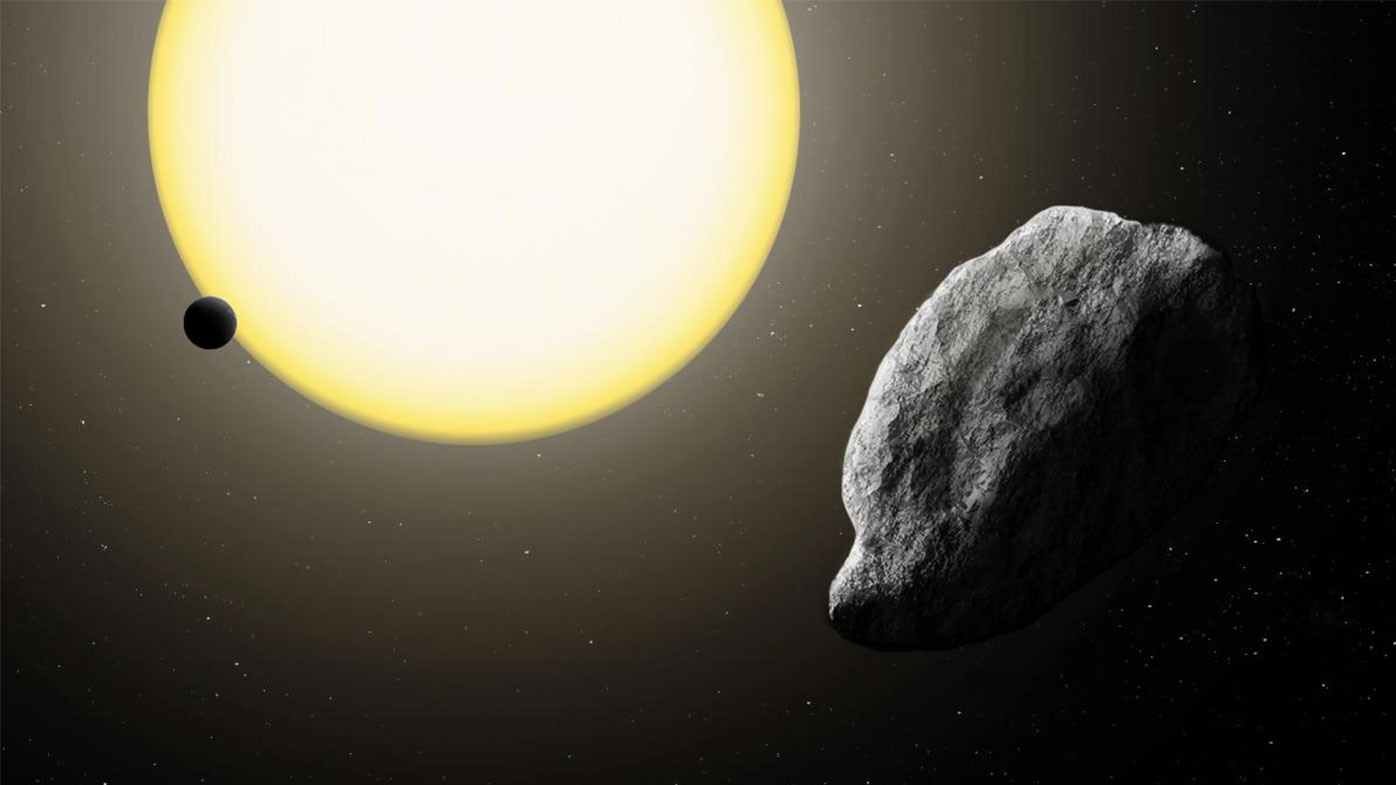 The 1km rock orbits the sun in just 113 days.