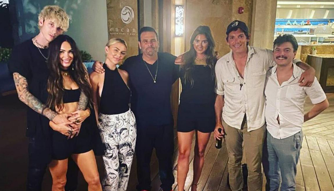 Megan Fox, Machine Gun Kelly, cast, Midnight in the Switchgrass, cosy, photo