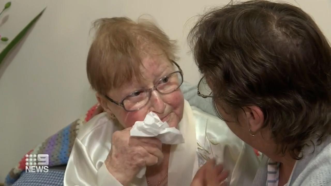 Reunion months after terminal diagnosis
