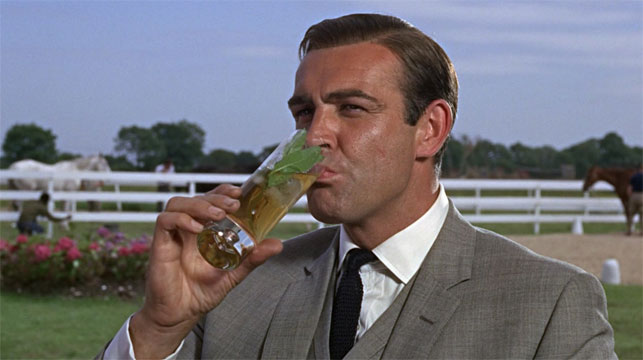 Sean Connery as James Bond in Goldfinger. (MGM)