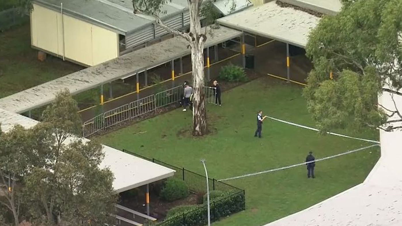 A boy, 14, was charged after a student was stabbed in the stomach and back at Glenwood High in Sydney's west almost two weeks ago.