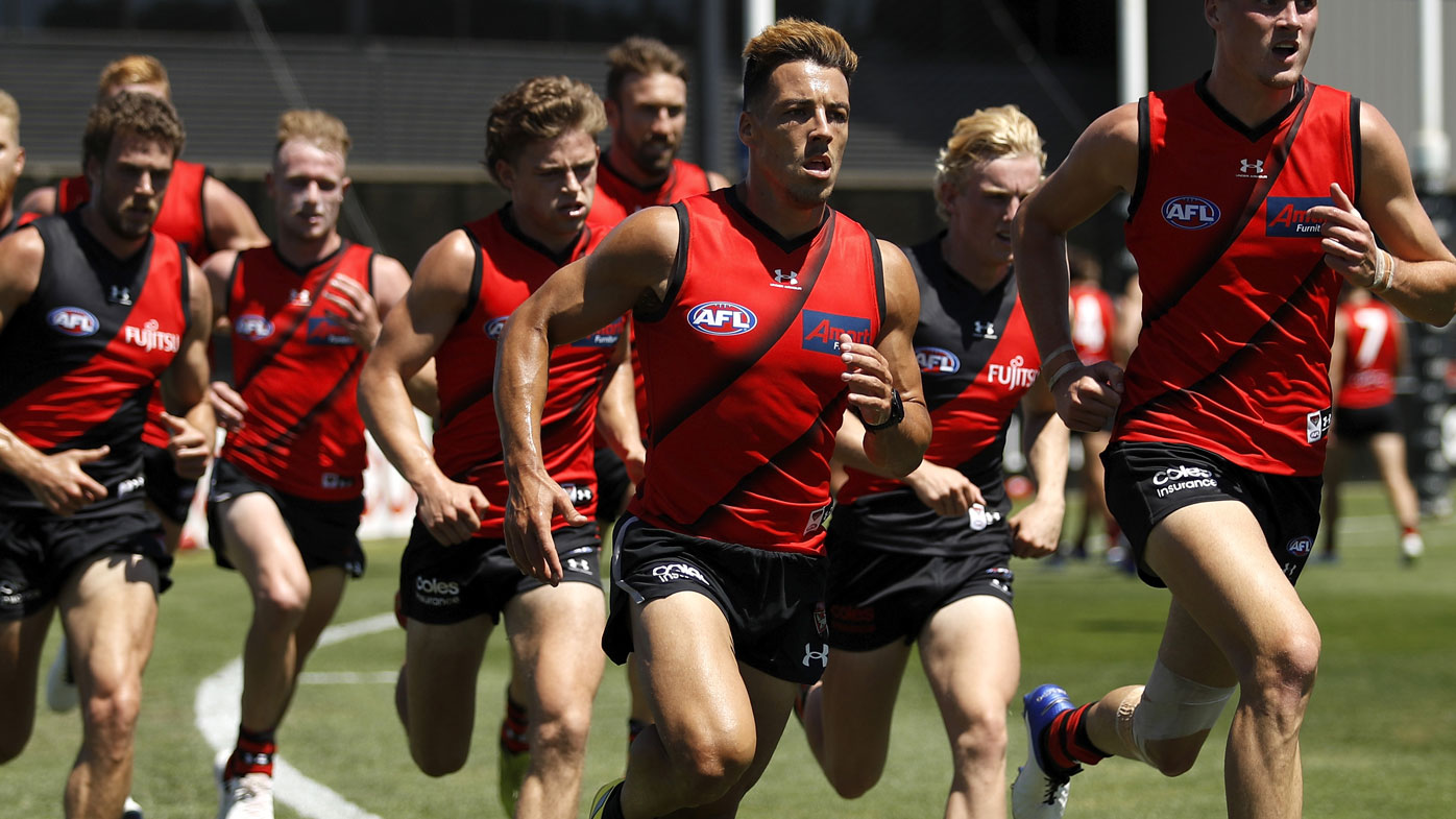 Essendon prepare for 2021 season. (Getty)