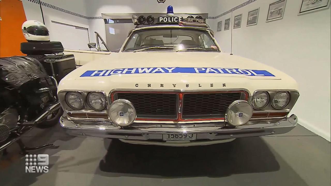 NSW Police memorabilia collection