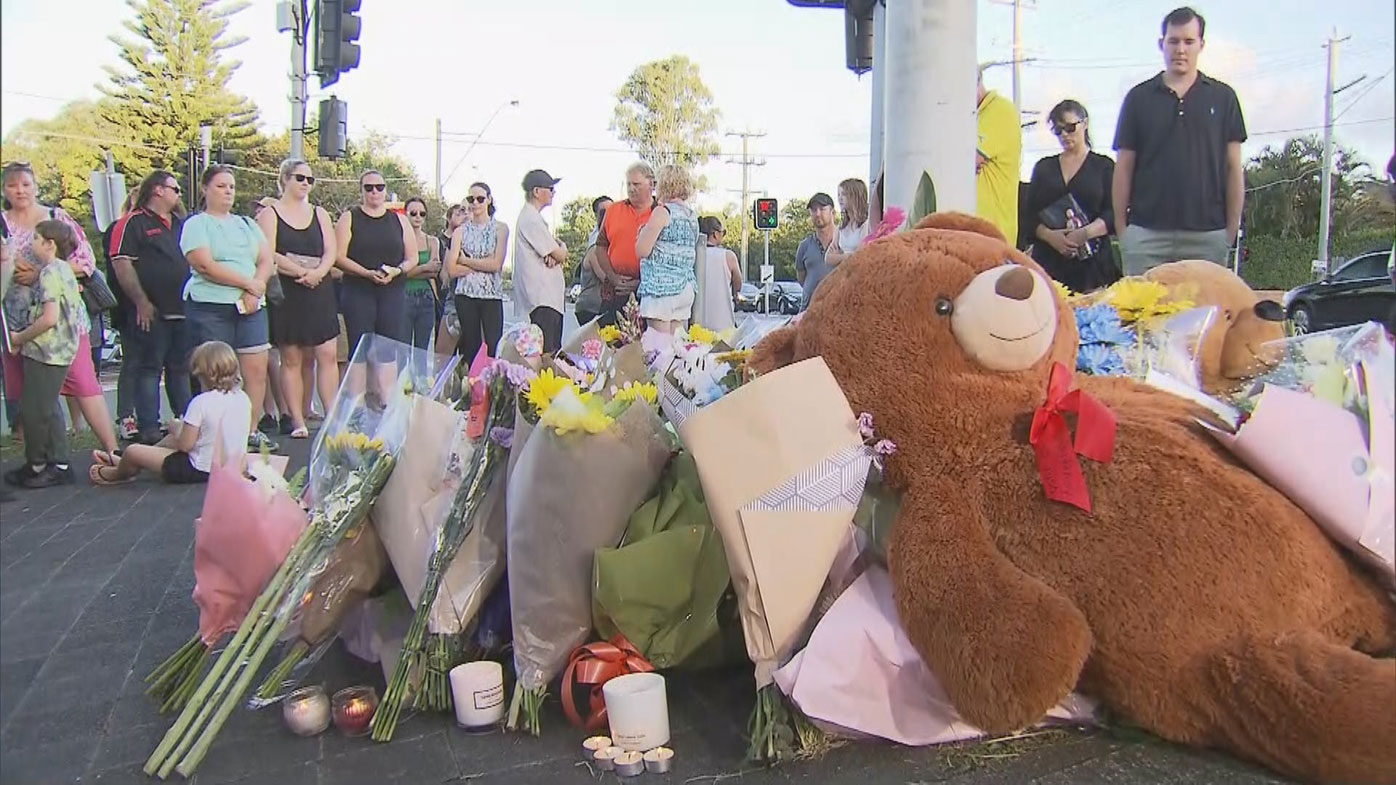 Vigil held for pregnant couple killed by allegedly stolen car