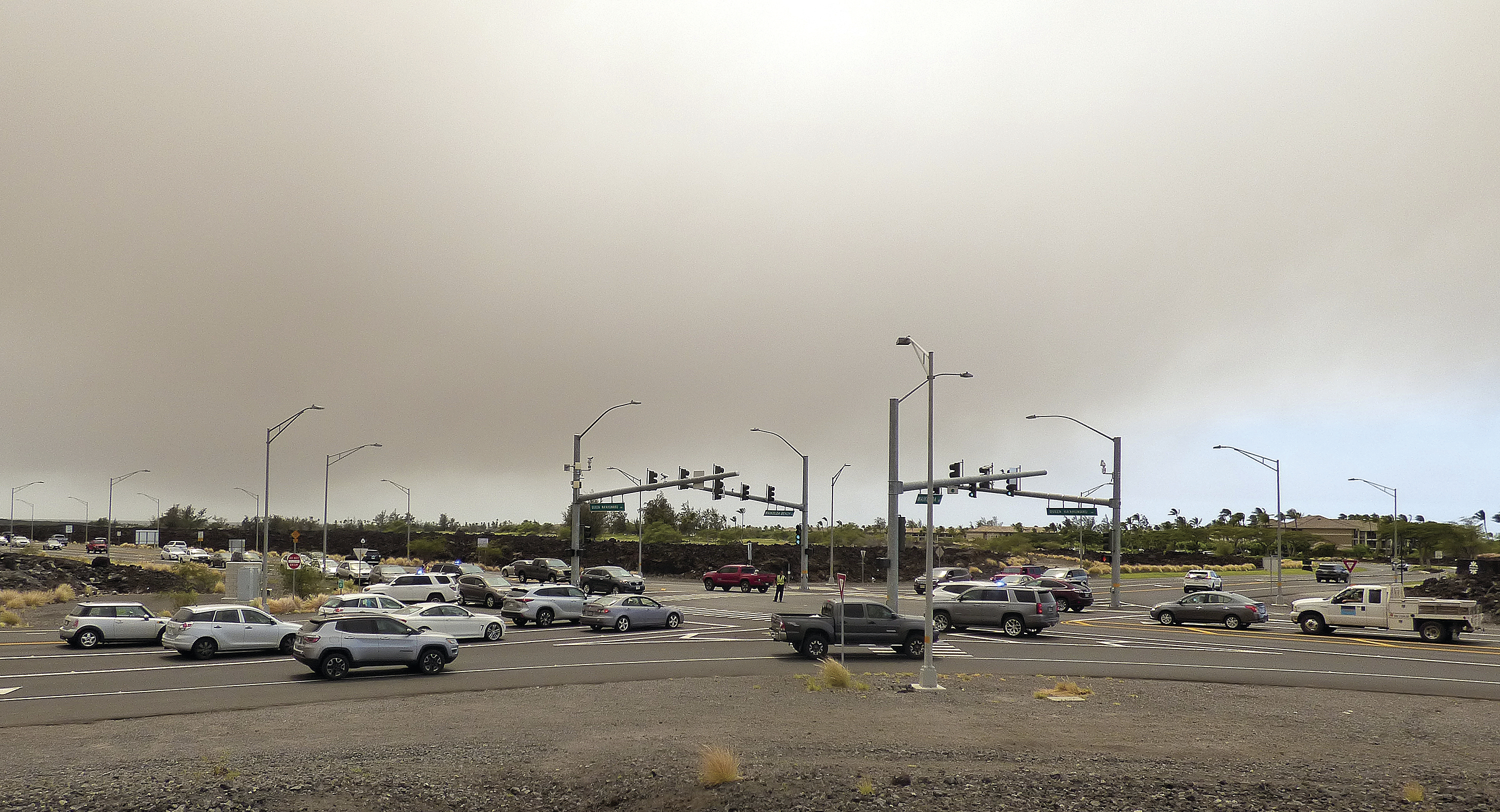 Authorities have lifted evacuation orders but warned they could be reinstated at any time and that people should be ready to go.