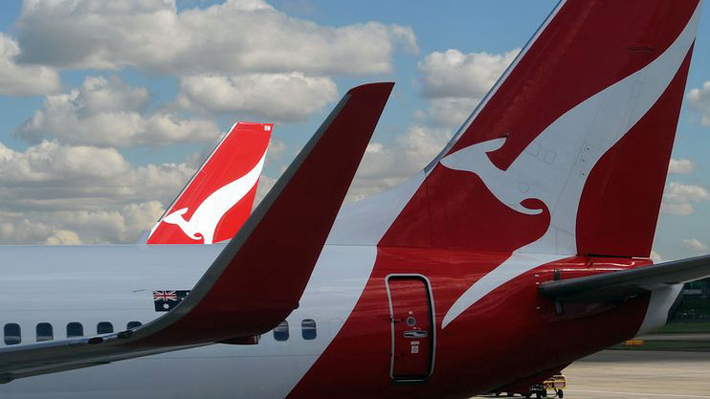 "Qantas spokesperson says the airline has expressed ""our sympathies"" to Ms Newman for Duke's passing."