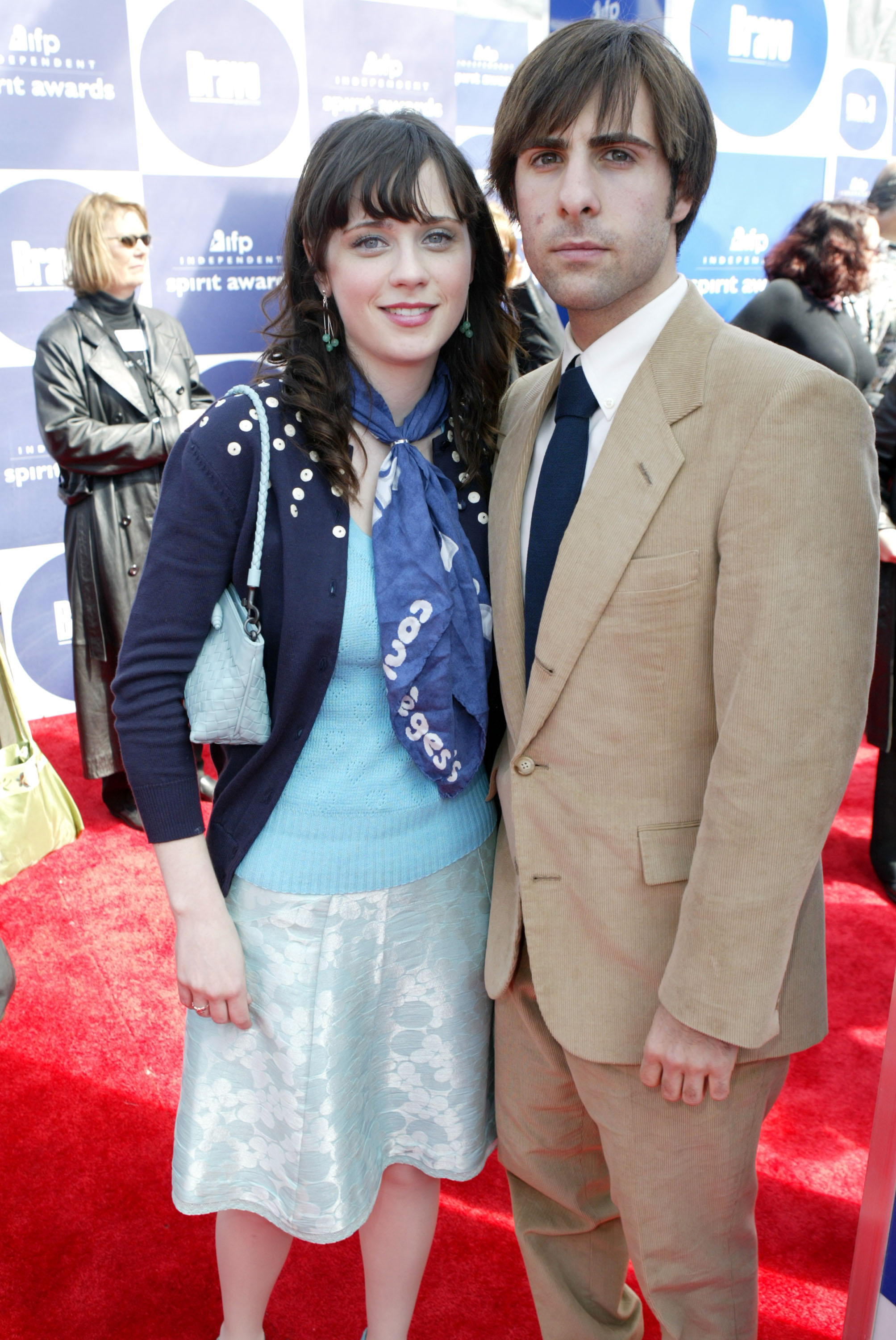 Zooey Deschanel and Jason Schwartzman dated between 2003 and 2005.