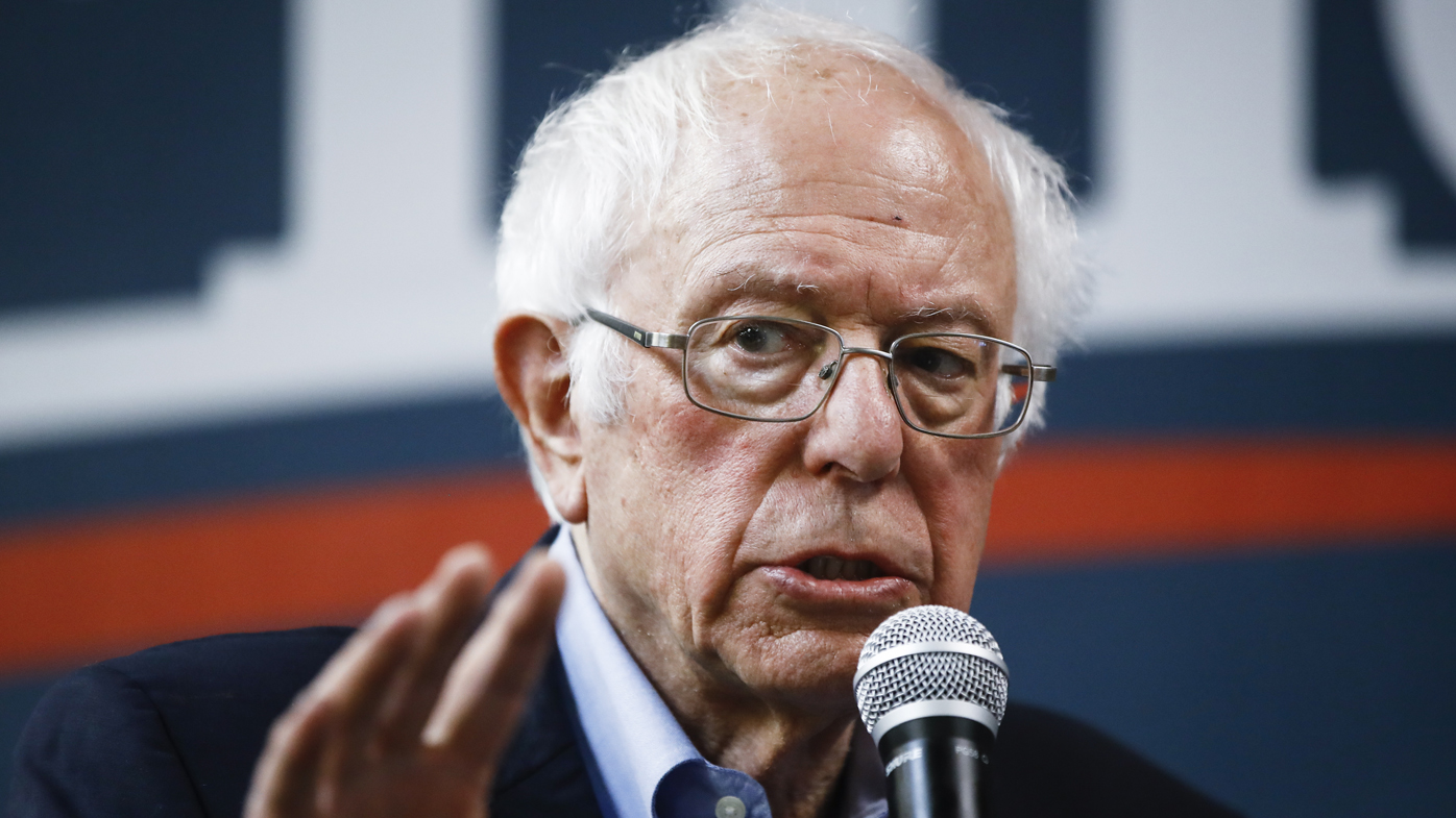 Bernie Sanders enters the Iowa caucuses with momentum.
