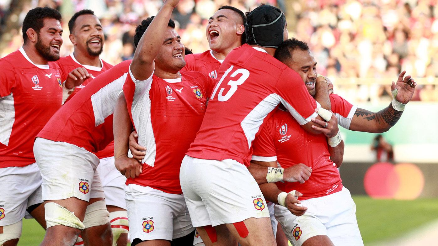 Tonga down USA in RWC