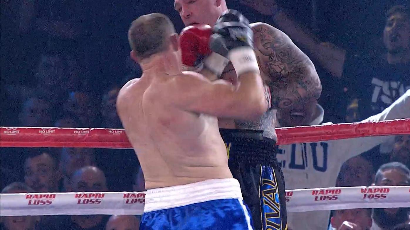 Gallen beats down Browne in massive upset