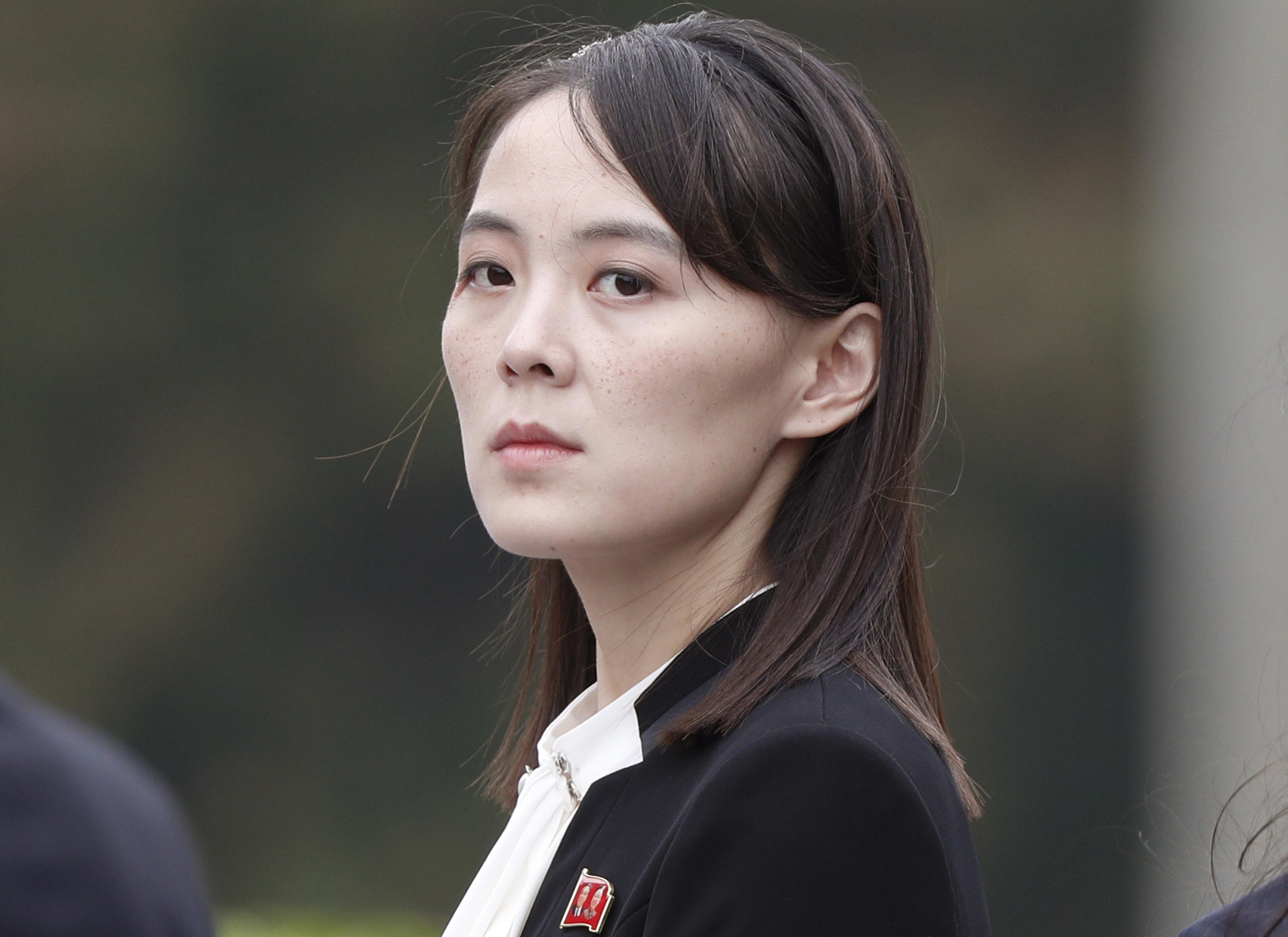 Kim Jong Un's sister's message for South Korea