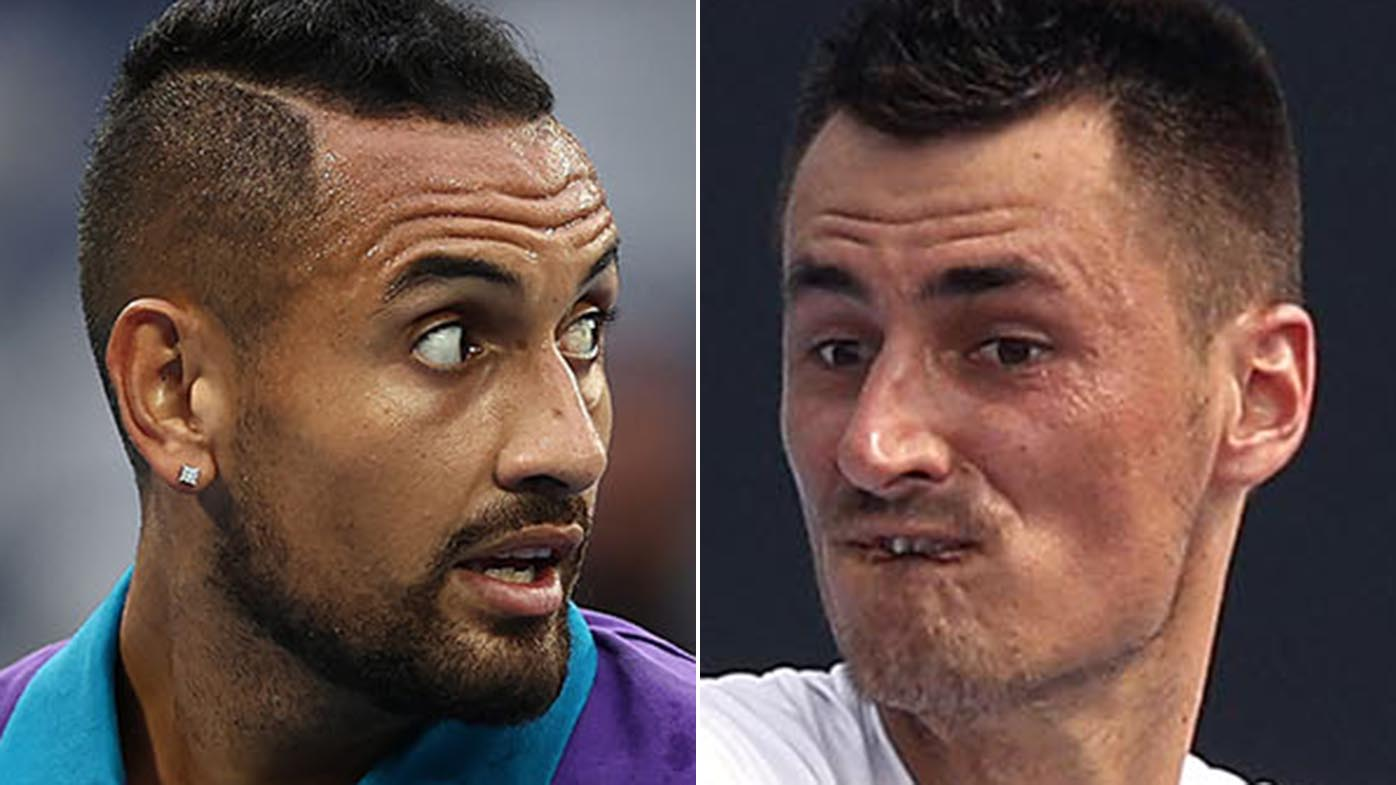 Kyrgios blows up over 'disgusting' Tomic sledge