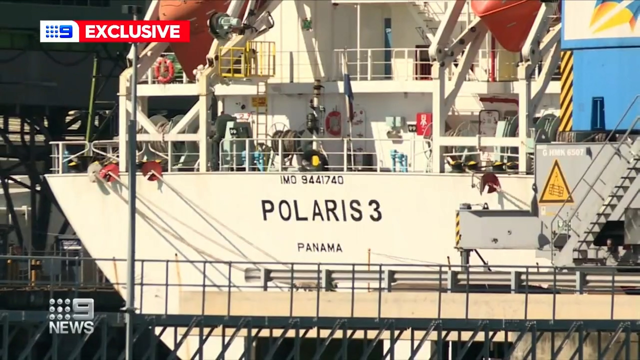 A crew member on board the livestock vessel Polaris 3 has sparked an international quarantine breach.