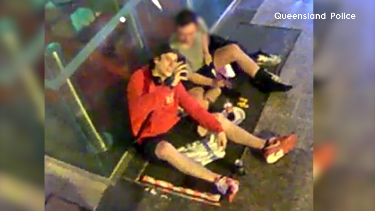 Queensland woman knocked out by man who kicked her in face