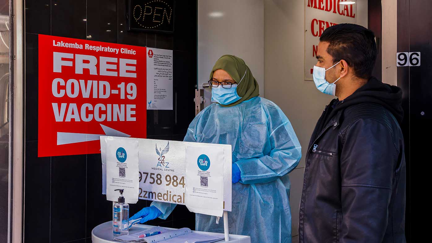 Mayor says vaccine focus 'much too late' for hotspot suburbs