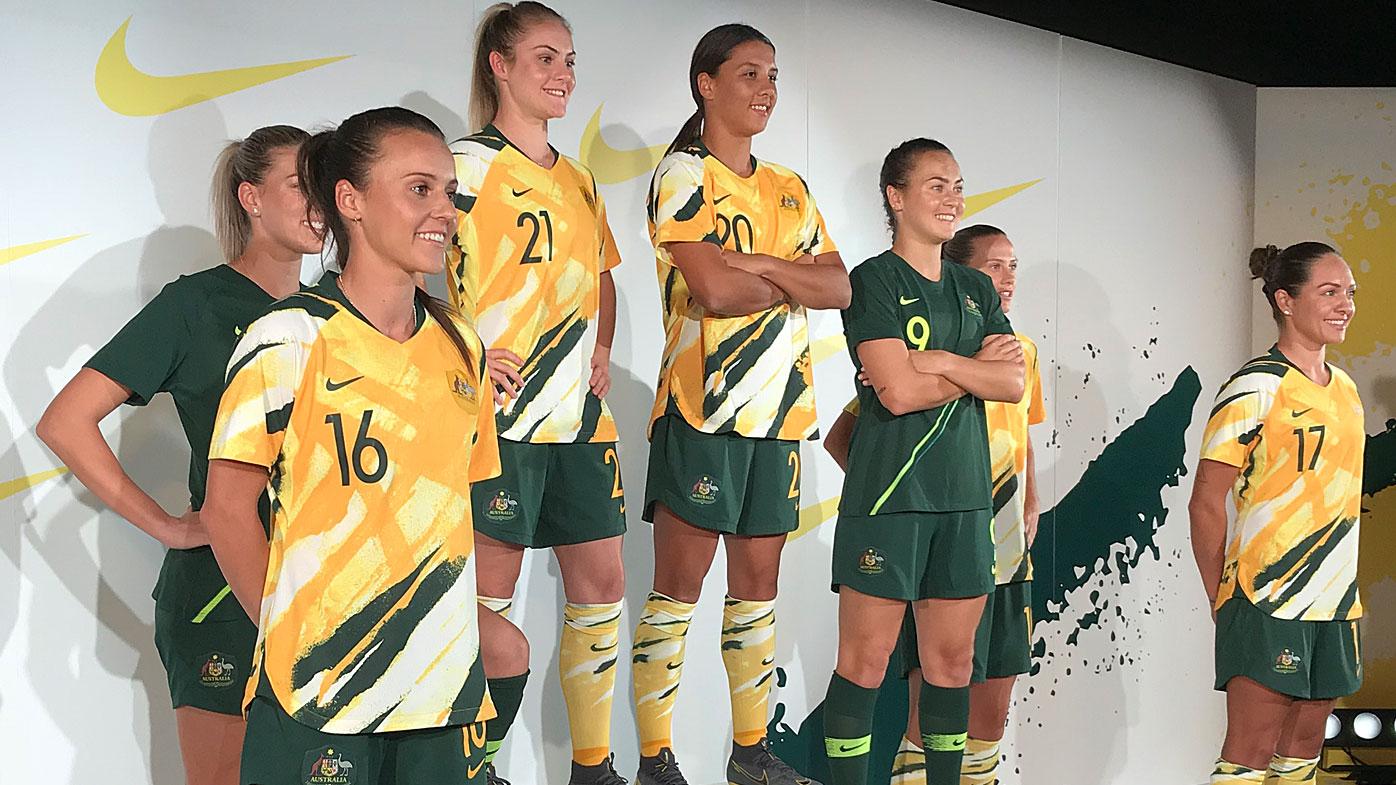 Matildas' 2019 Women's World Cup kit