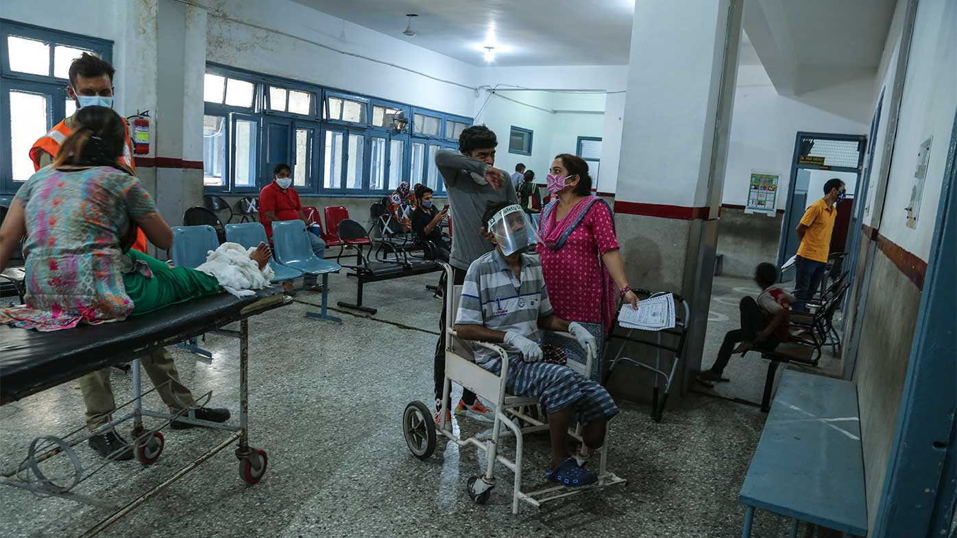The deadly fever is putting India's already overstrained hospitals under increased pressure.