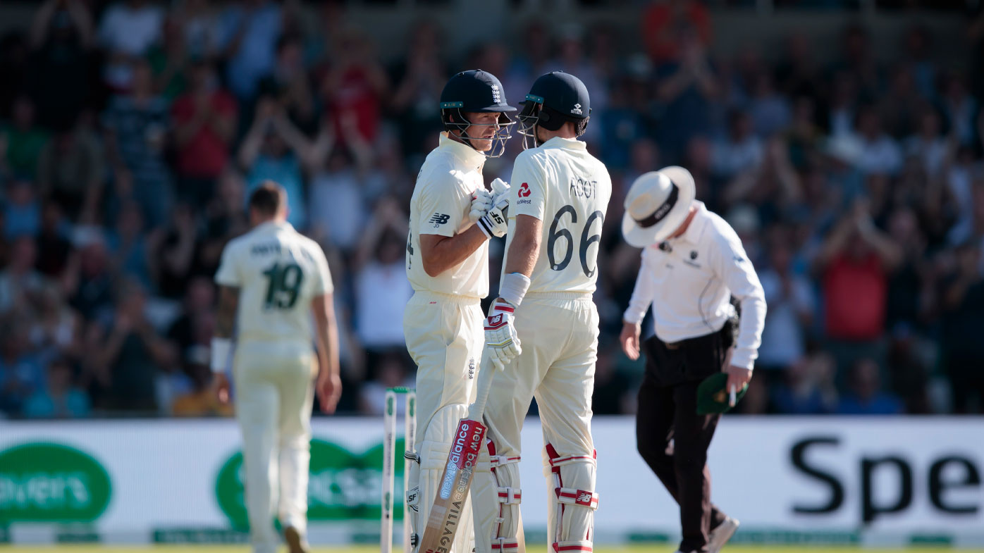 Root and Denly were outstanding on day three