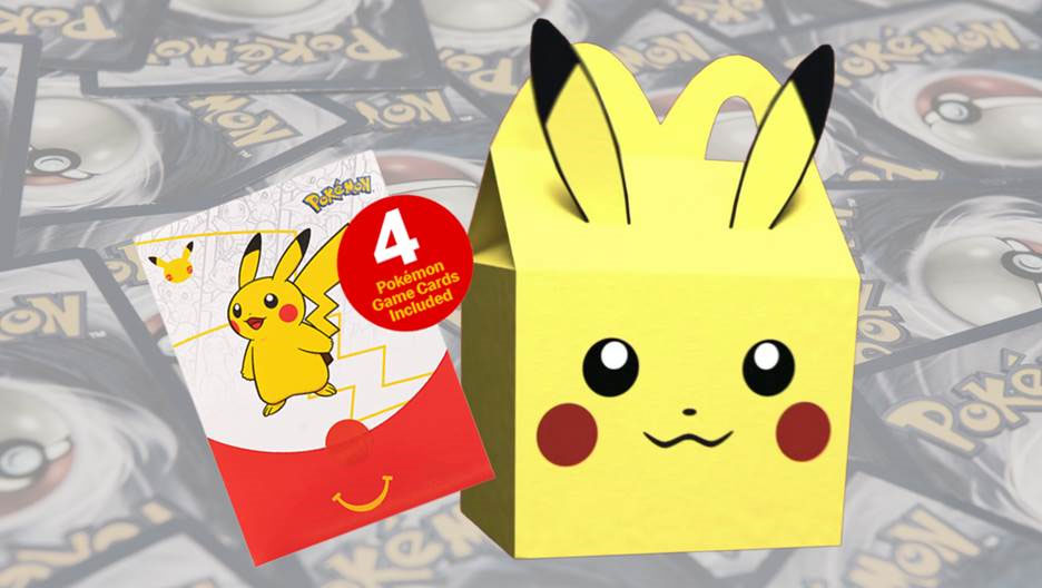 McDonald's are set to release a new range of Pokémon cards.