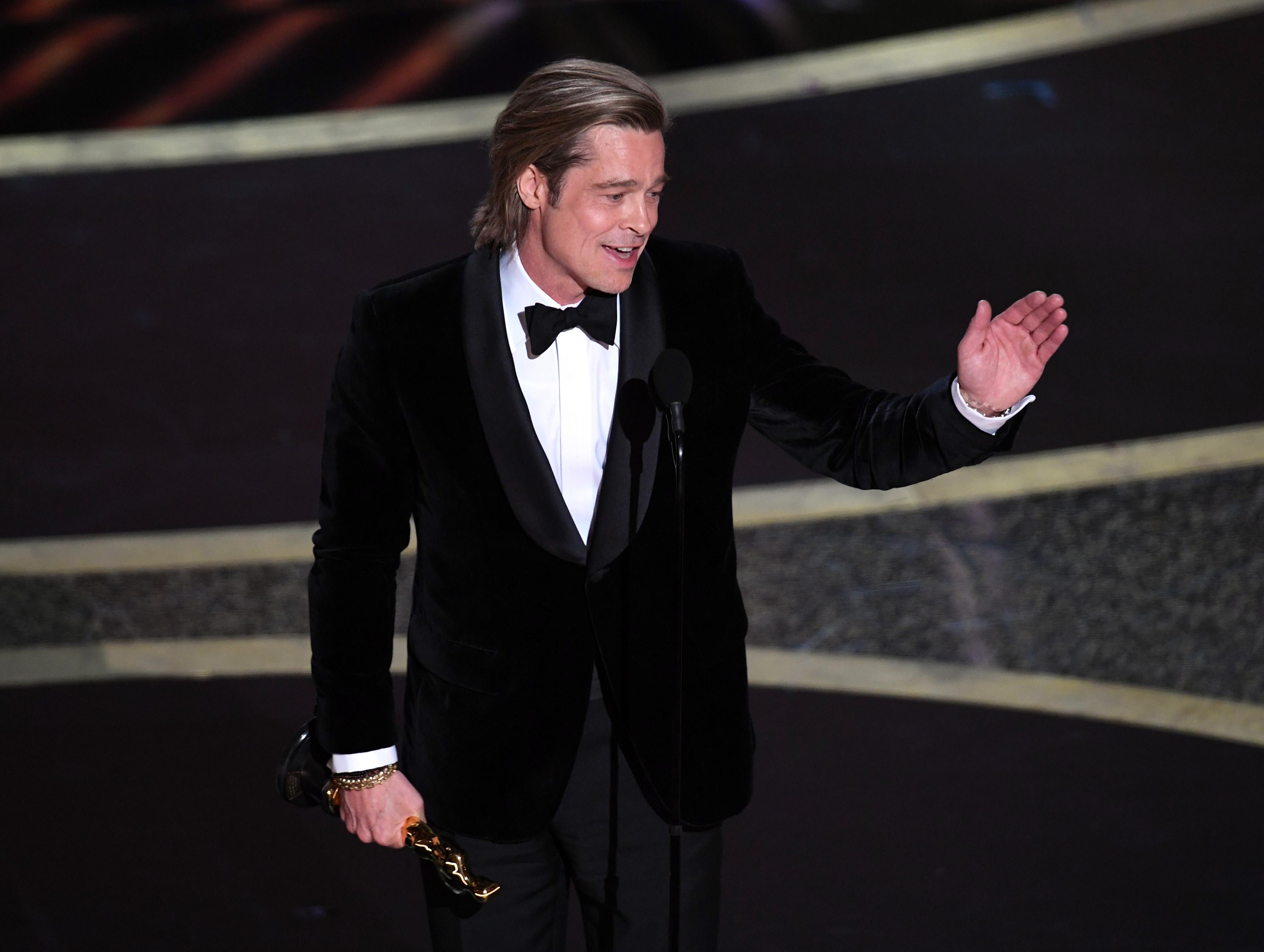 Brad Pitt, Oscars, 2020, speech