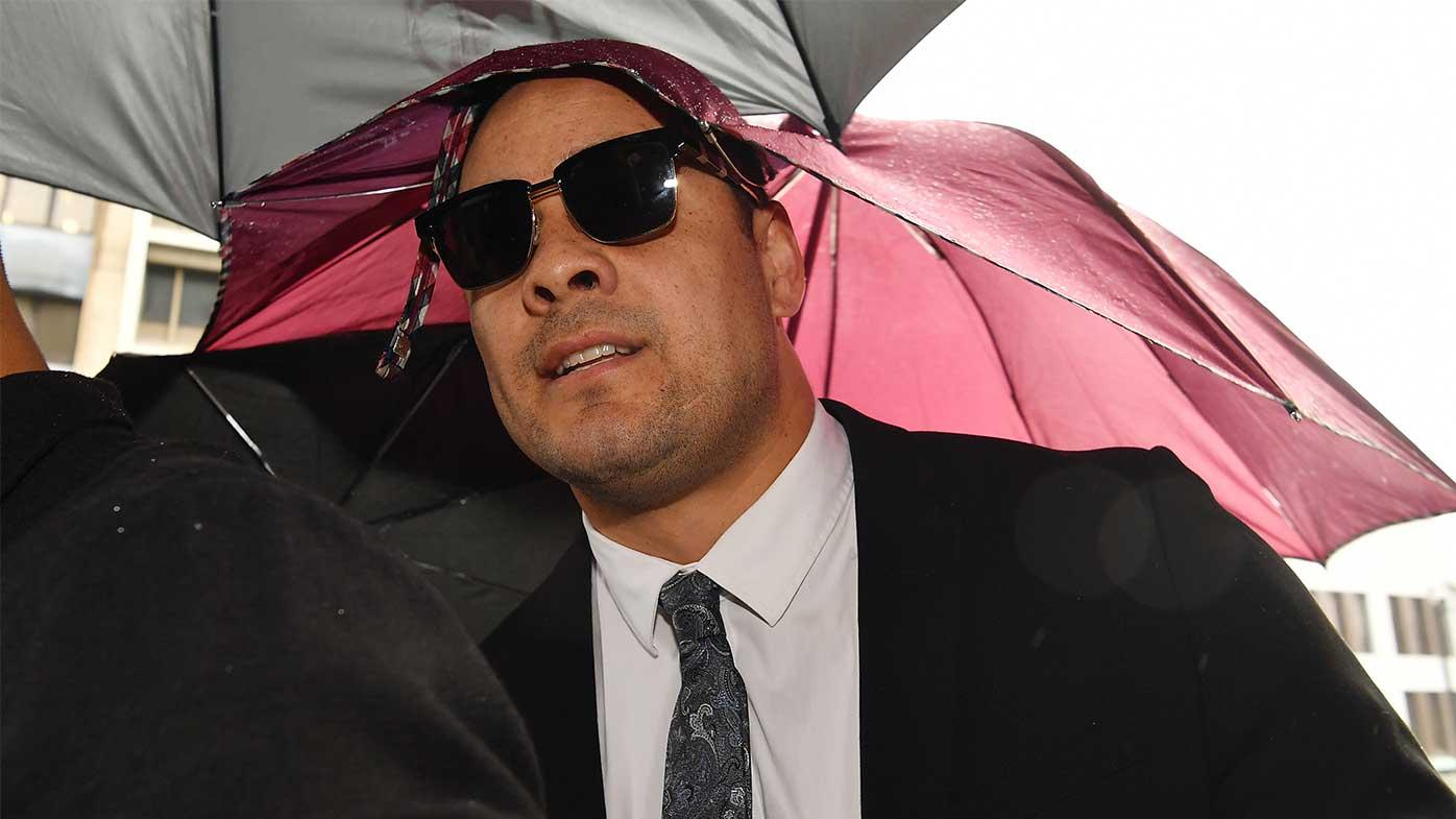 Jarryd Hayne jailed for 2018 sexual assault