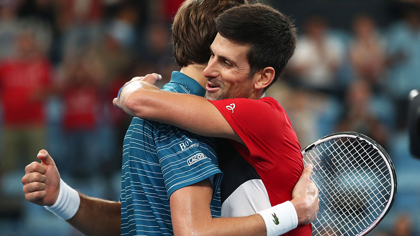 Djokovic sweeps past Nadal in ATP Cup final