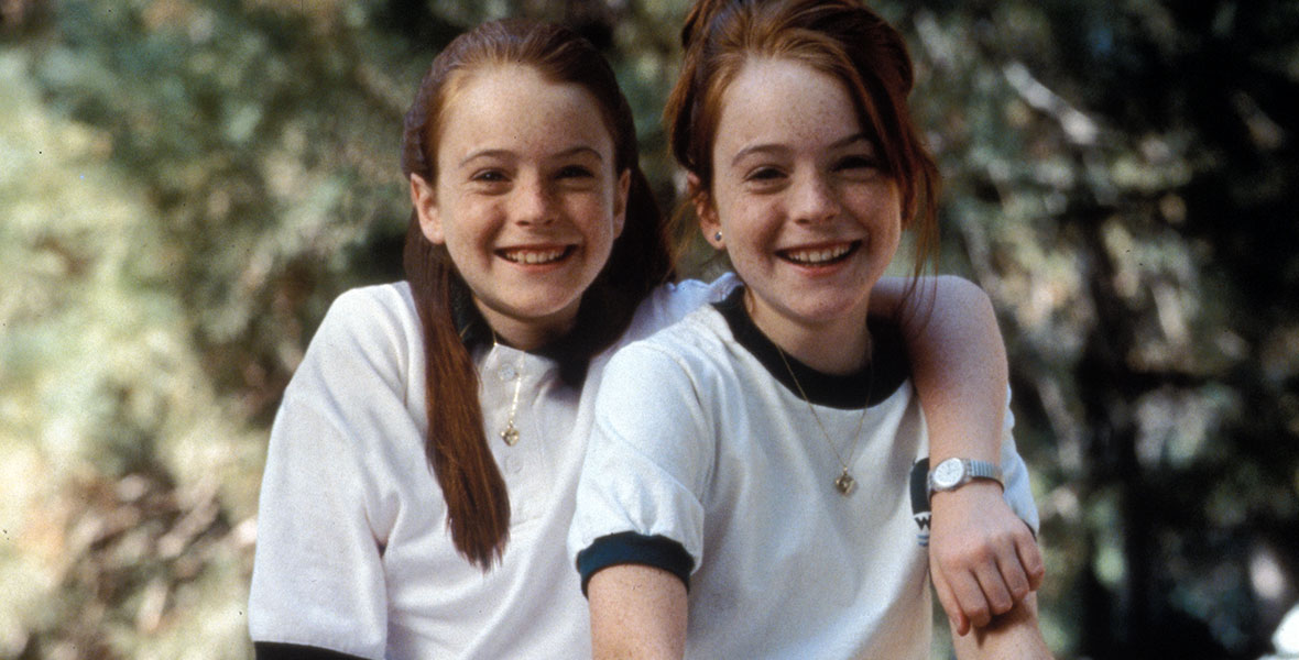 Hallie and Annie in the Parent Trap