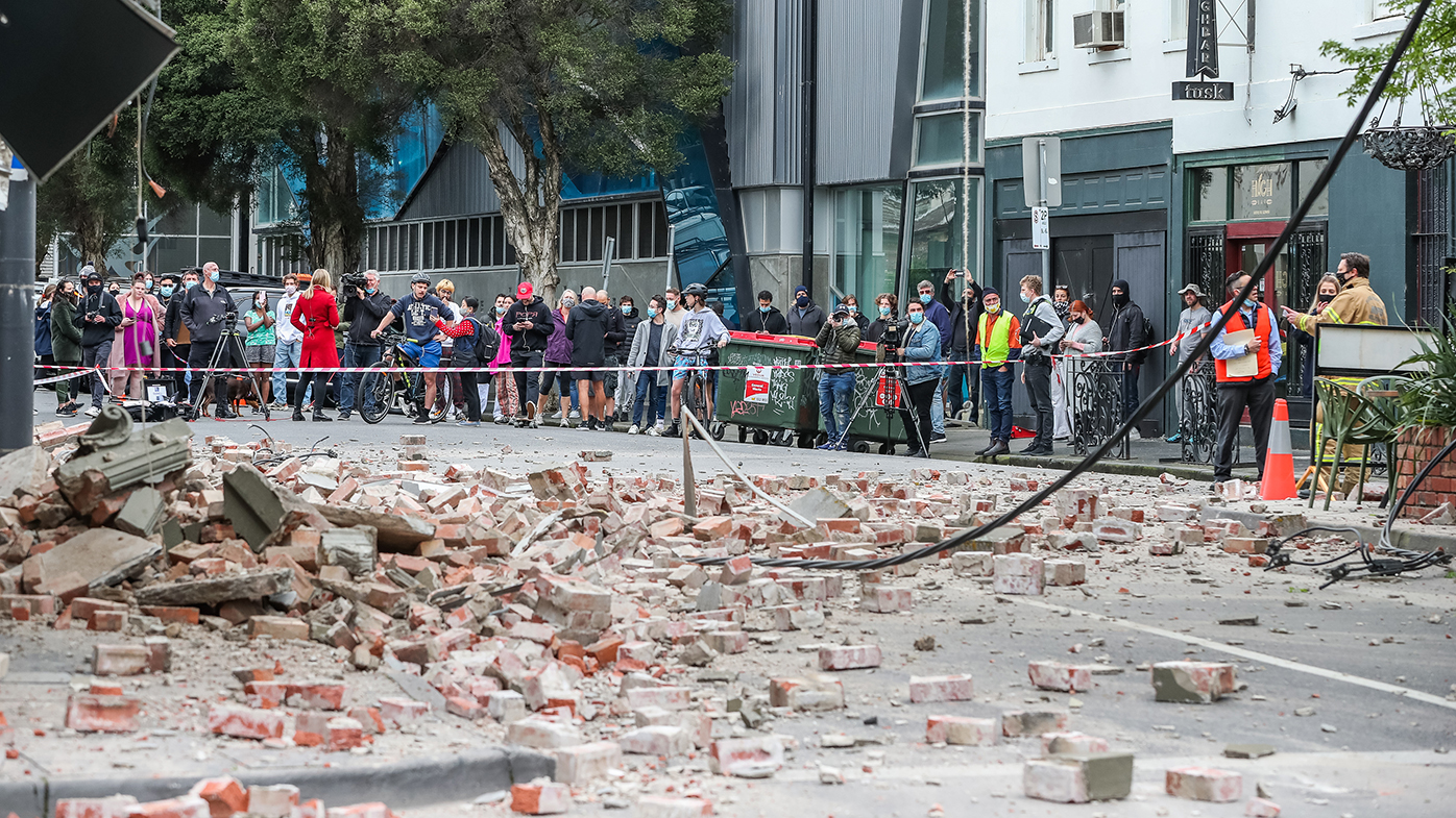 Earthquake Victoria's largest ever, residents told to brace for aftershocks