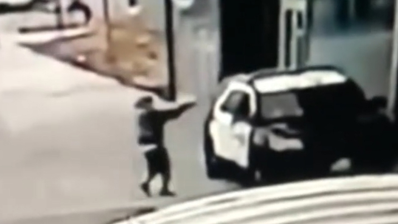 A gunman walked up to a Los Angeles County Sheriff's Office vehicle and opened fire on two deputies without warning or provocation on September 12, 2020.